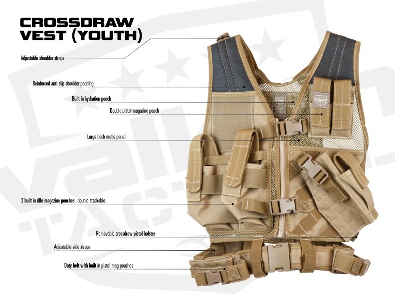 Crossdraw Vest
